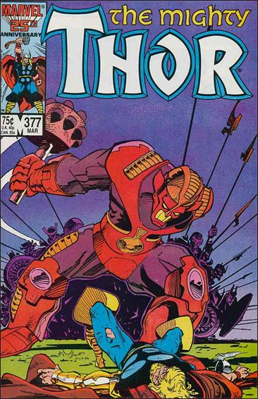 Thor (1966) 377-A by Marvel