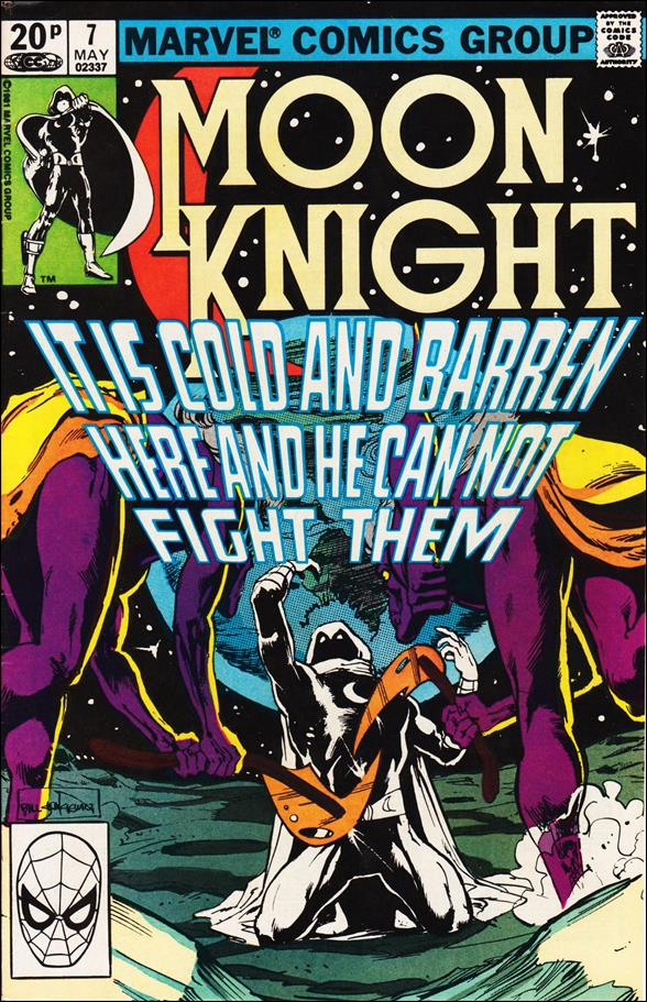 Moon Knight (1980) 7-B by Marvel