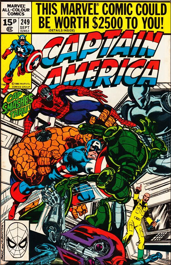 Captain America (1968) 249-B by Marvel