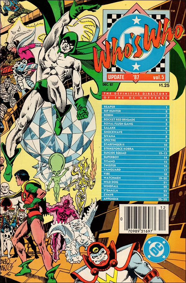 Who's Who: Update '87 5-A by DC
