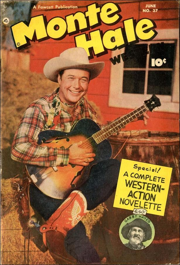 Monte Hale Western 37-A by Fawcett