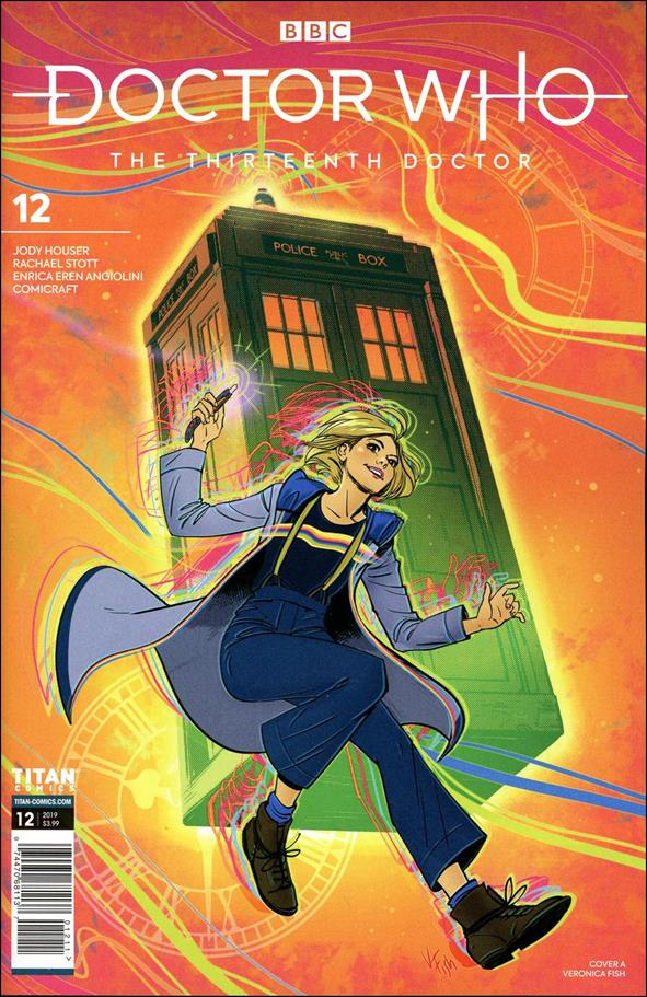 Doctor Who: The Thirteenth Doctor 12-A by Titan