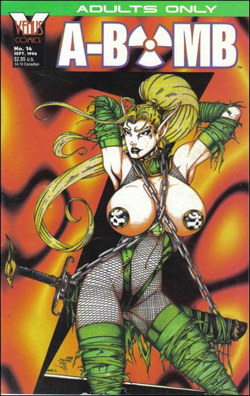 A-Bomb (1993) 14-A by Venus Comics