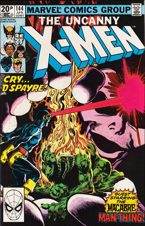 Uncanny X-Men (1981) 144-B by Marvel