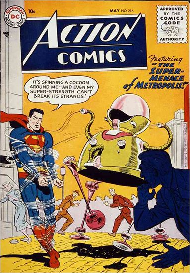 Action Comics (1938) 216-A by DC