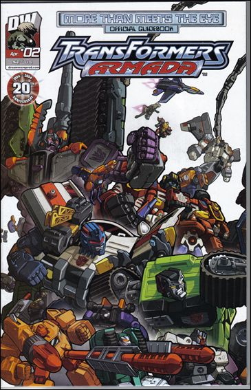 More Than Meets The Eye: Transformers Armada 2-A by Dreamwave