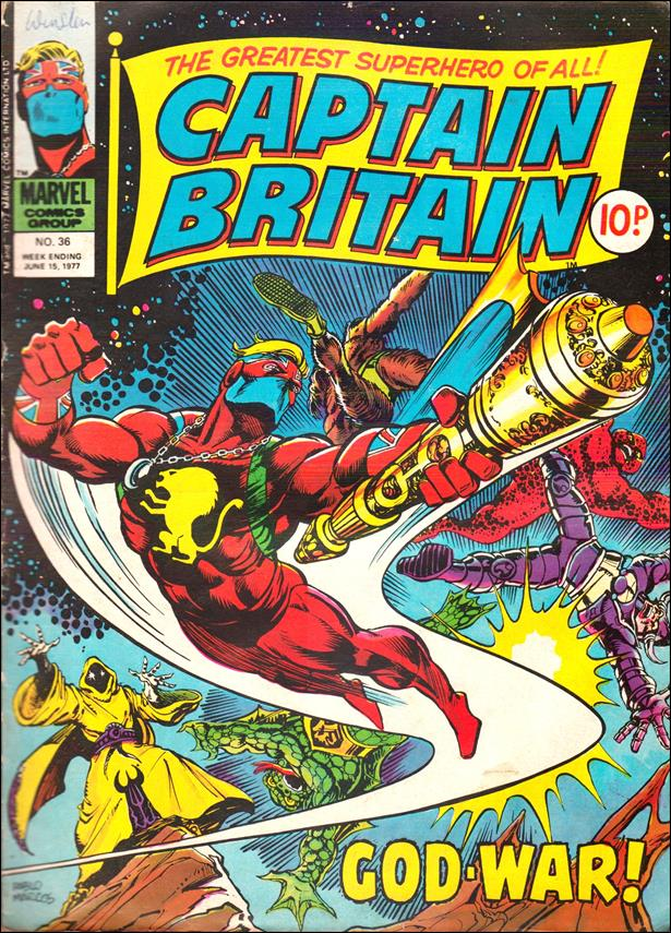 Captain Britain (UK) (1976) 36-A by Marvel UK