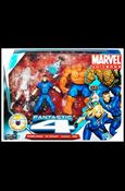 Marvel Universe (3-Packs) Fantastic Four 3-Pack w/H.E.R.B.I.E. (Clear I.W.)