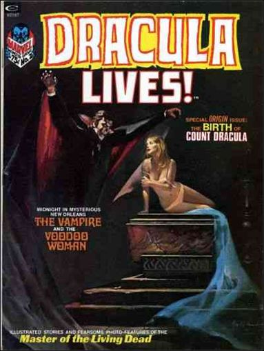 Dracula Lives 2-A by Marvel