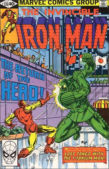 Iron Man (1968) 135-A by Marvel