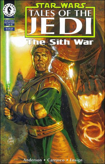 Star Wars: Tales of the Jedi - The Sith War 1-A by Dark Horse