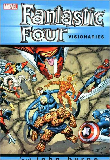 Fantastic Four Visionaries: John Byrne 2-A by Marvel
