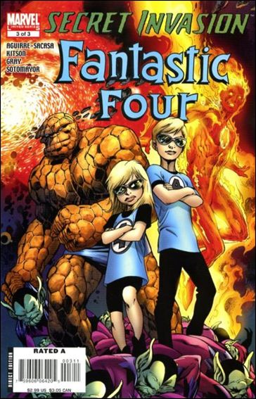 Secret Invasion: Fantastic Four 3-A by Marvel