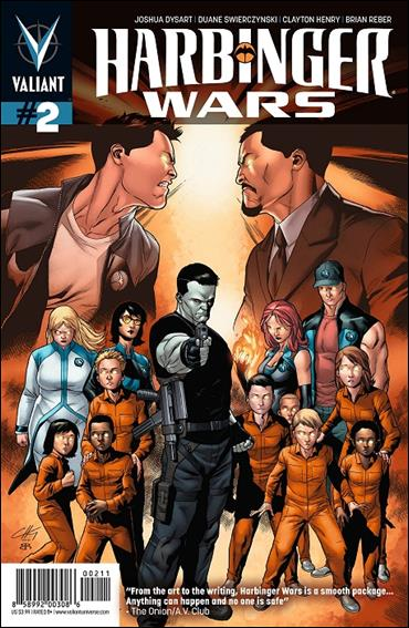 Harbinger Wars 2-A by Valiant Entertainment