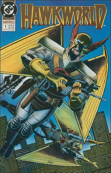 Hawkworld (1990) 1-A by DC