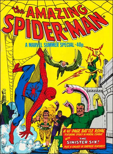 Spider-Man Summer Special (UK) nn2-A by Marvel UK