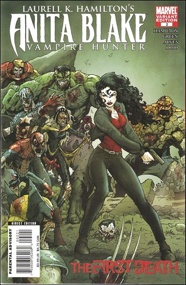 Laurell K. Hamilton's Anita Blake - Vampire Hunter: The First Death 2-B by Marvel