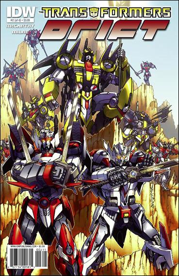 Transformers: Drift 2-A by IDW