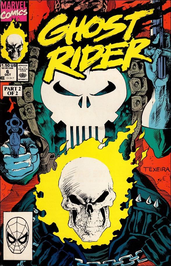 Ghost Rider (1990) 6-A by Marvel