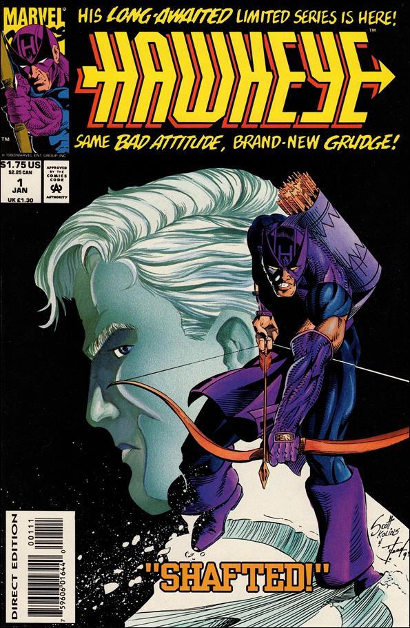 Hawkeye (1994) 1-A by Marvel