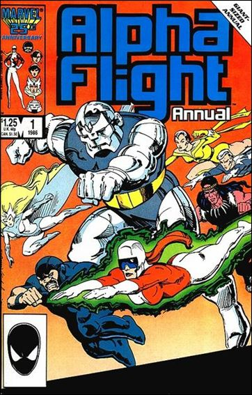 Alpha Flight Annual 1-A by Marvel