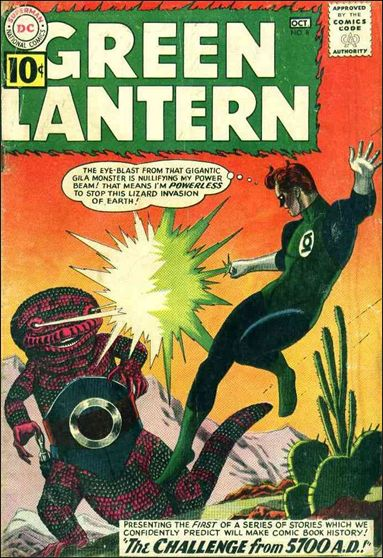 Green Lantern (1960) 8-A by DC