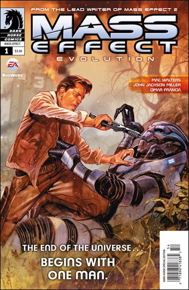 Mass Effect: Evolution 1-A by Dark Horse