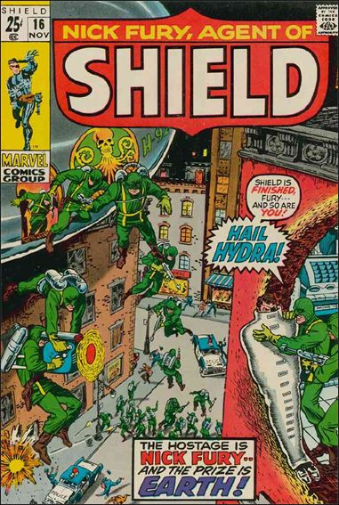 Nick Fury, Agent of S.H.I.E.L.D. (1968) 16-A by Marvel