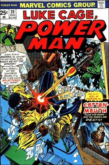 Power Man 20-A by Marvel