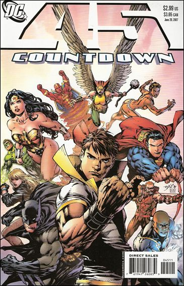 Countdown (2007) 45-A by DC