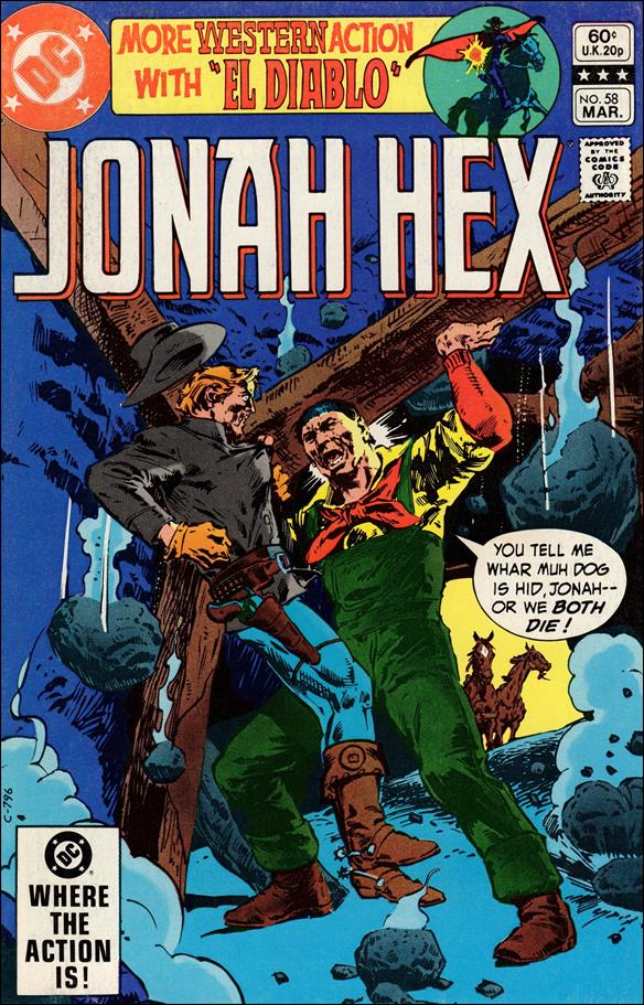 Jonah Hex (1977) 58-A by DC