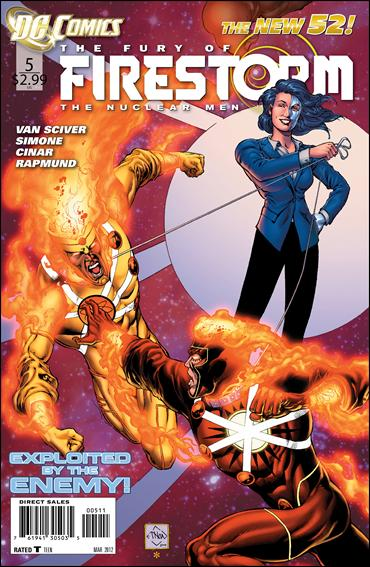 Fury of Firestorm: The Nuclear Men 5-A by DC