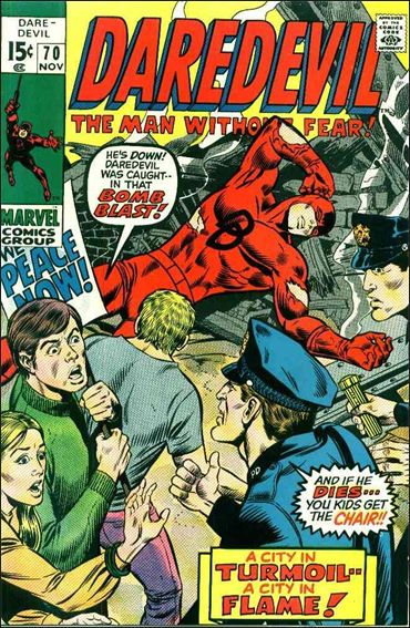 Daredevil (1964) 70-A by Marvel