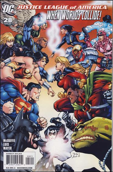 Justice League of America (2006) 28-A by DC
