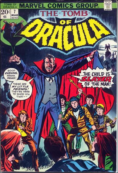 Tomb of Dracula (1972) 7-A by Marvel