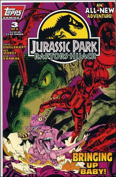 Jurassic Park: Raptors Hijack 3-A by Topps