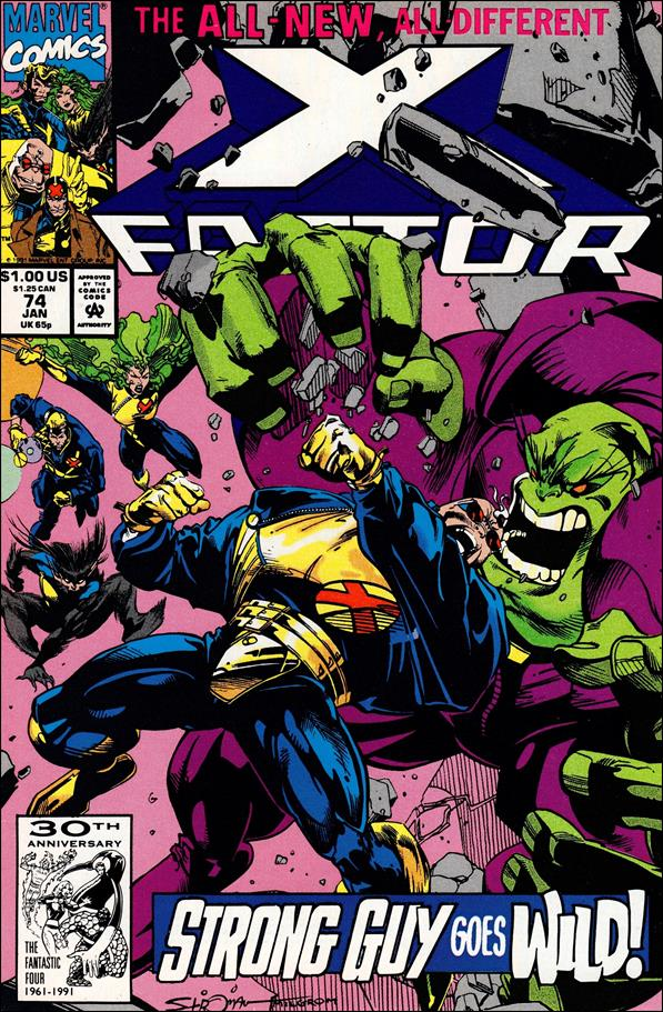 X-Factor (1986) 74-A by Marvel