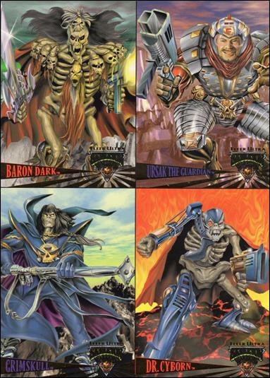 Fleer Ultra Skeleton Warriors (Promo) nn-A by Fleer