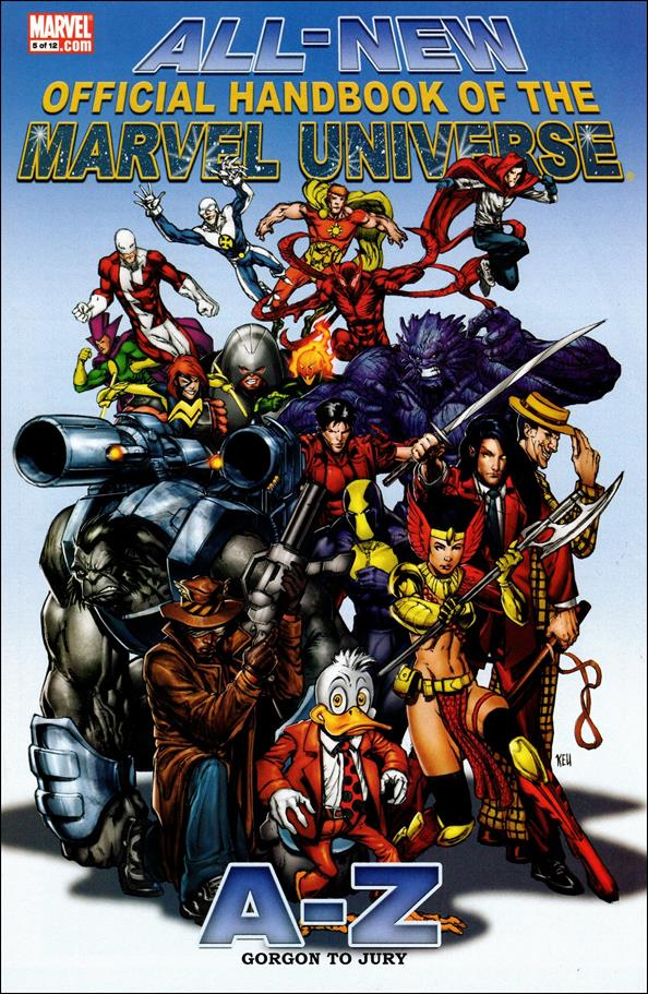 All-New Official Handbook of the Marvel Universe A to Z 5-A by Marvel