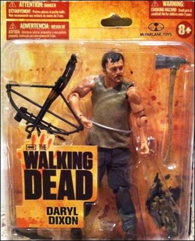 Walking Dead (TV Series 1)  Daryl Dixon (Wal-Mart Exclusive) by McFarlane Toys