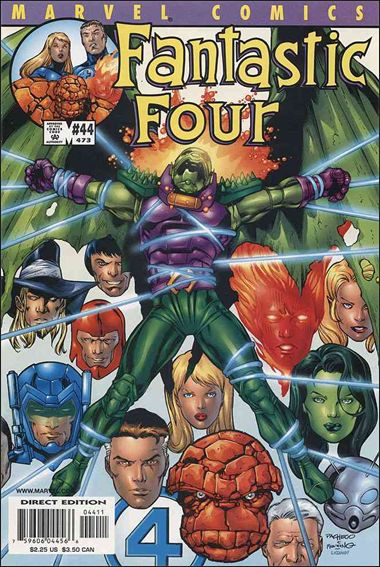 Fantastic Four (1998) 44-A by Marvel