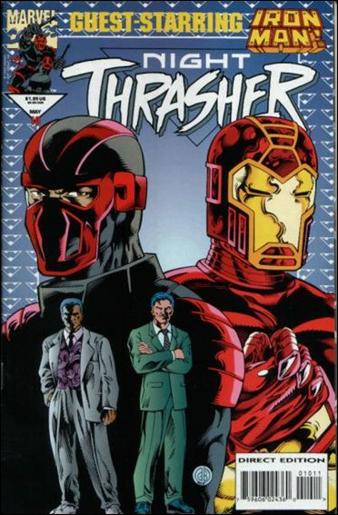 Night Thrasher 10-A by Marvel