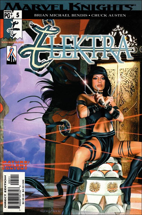 Elektra (2001) 5-A by Marvel
