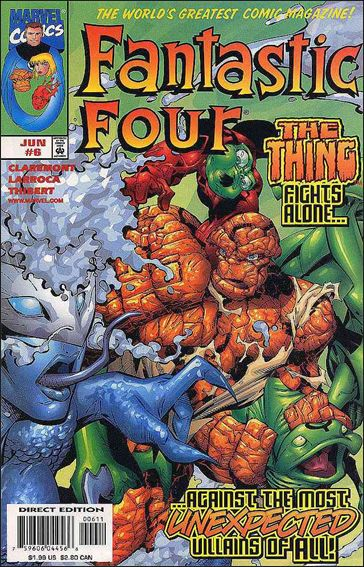 Fantastic Four (1998) 6-A by Marvel