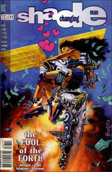 Shade, the Changing Man (1990) 67-A by Vertigo