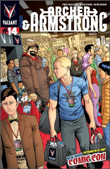 Archer & Armstrong (2012) 14-E by Valiant Entertainment