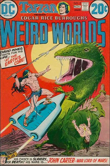 Weird Worlds (1972) 2-A by DC