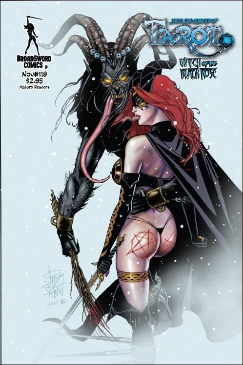 Tarot: Witch of the Black Rose 119-B by BroadSword Comics