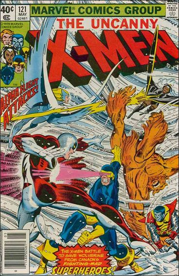 X-Men (1963) 121-A by Marvel
