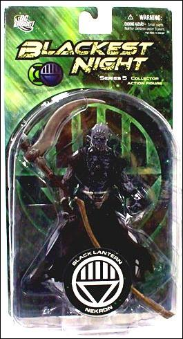 Blackest Night (Series 5) Black Lantern Nekron by DC Direct